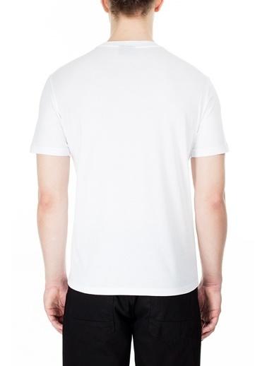 Emporio Armani  Regular Fit T Shirt Erkek T Shırt 3H1Tb7 1J30Z 0100 Beyaz
